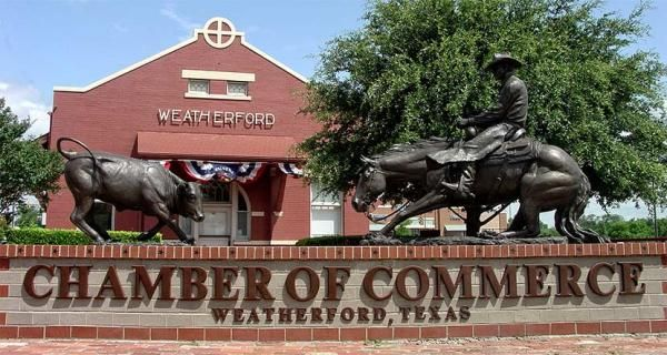 weatherford chamber building