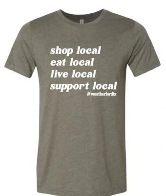 Shop Local Eat Local Live Local Shirt